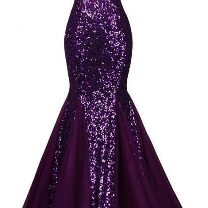 Strapless Sweetheart Sequin Mermaid..