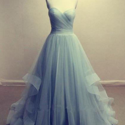 Tulle Prom Dresses Sweetheart Neck ..