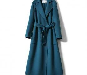 Long Women Wool Coat..
