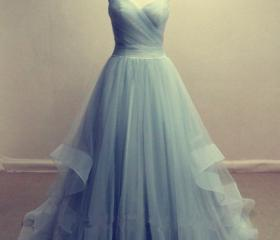 Tulle Prom Dresses S..