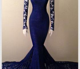 Royal Blue Formal Ev..