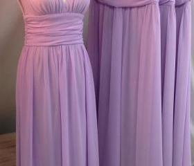 Purple Long Chiffon ..