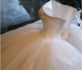 Ball Gown tulle Wedd..