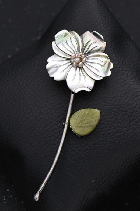 Aolly Flower Brooch