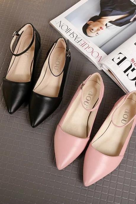 Spring Women Low Heels Shoes