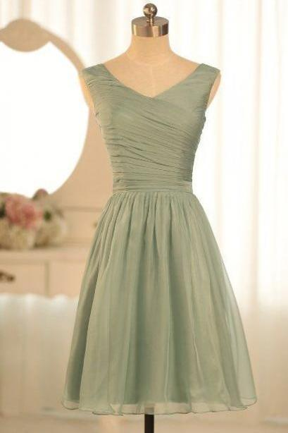 Short Chiffon Homecoming Dresses 2016 Custom Made Short Lovely Party Dresses Women Dresses