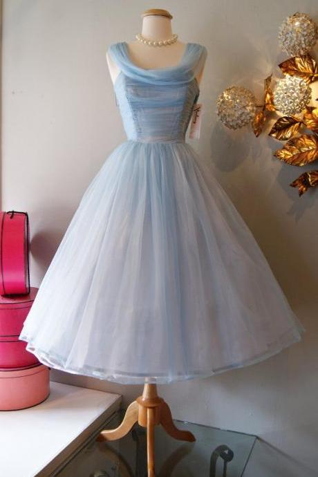 O-neck Short Tulle Homecoming Dresses Knee Length Mini Women Party Dresses