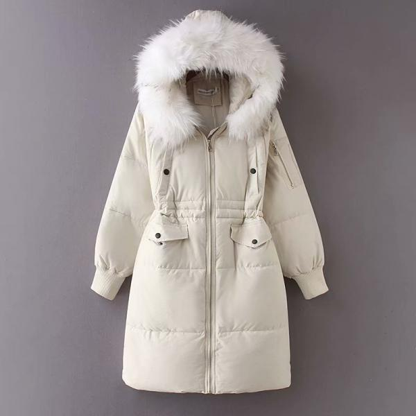 Fashion Women Winter PU Cotton Outerwear