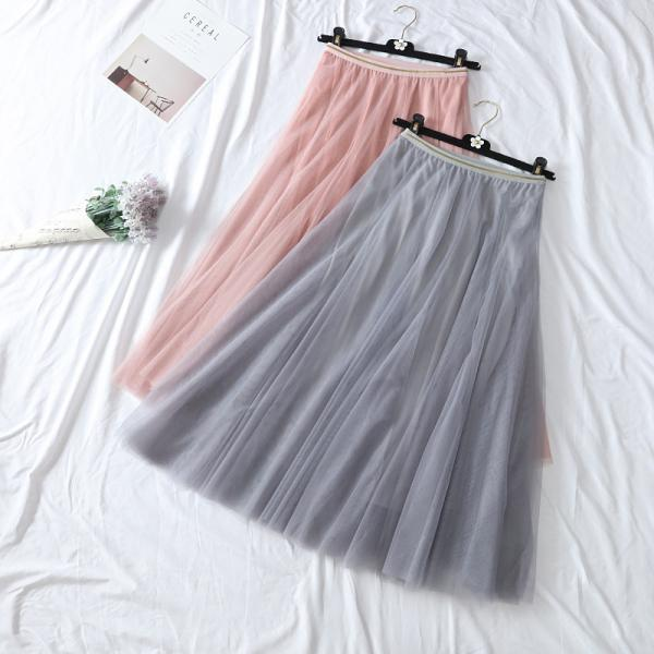 Long Tulle Women Skirt Buy one get one