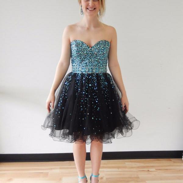 Short Tulle Homecoming Dre..